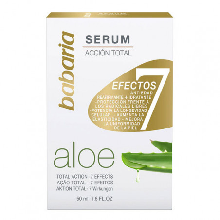 Serum 7 Efectos Aloe Vera - Babaria