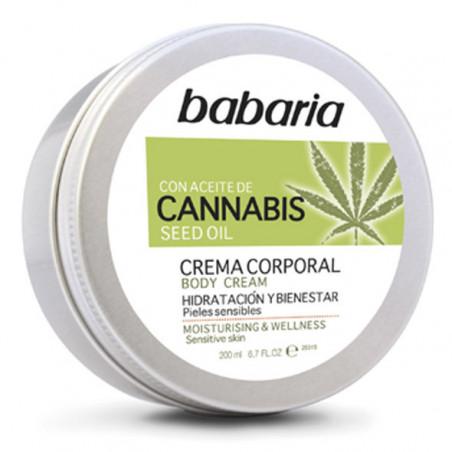 Crema Corporal Cannabis - Babaria