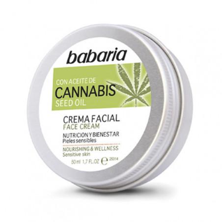 Crema Facial Cannabis - Babaria
