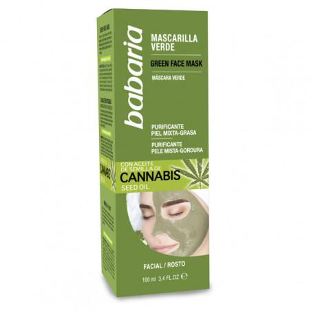 Mascarilla Facial Cannabis - Babaria
