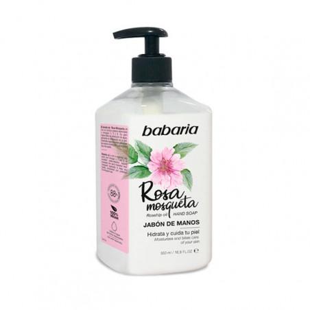 Jabón de Manos Rosa Mosqueta - Babaria