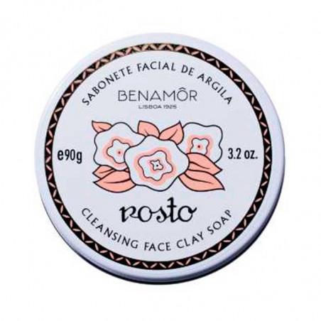 Rostro. Jabón Limpiador Facial con Arcillas - BENAMÔR
