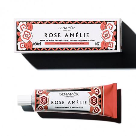 Rose Amélie. Crema de Manos Revitalizante - BENAMÔR