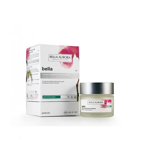 Crema Antiedad y antimanchas de día pieles mixtas - Bella Aurora