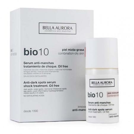 Bio 10 Serum Antimanchas pieles mixtas - Bella Aurora