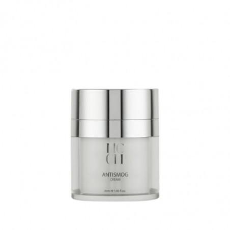 Facial Lines. Antismog Cream - Medical Cosmetics