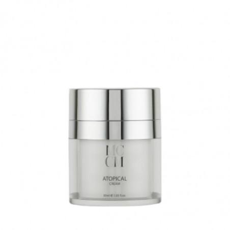 Facial Lines. Atopical Cream - Medical Cosmetics