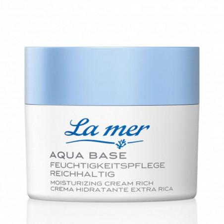 Aqua Base. Crema Hidratante Extra Rica - LA MER