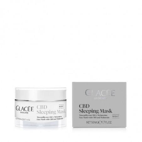 Glacée Skincare. CBD Sleeping Mask - ISSEIMI - HEBER FARMA