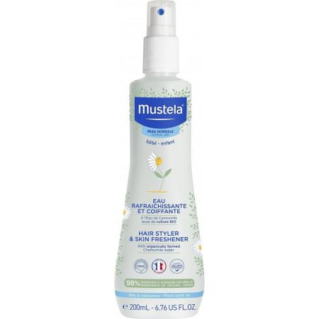 Agua de colonia sin alcohol con vaporizador – Mustela