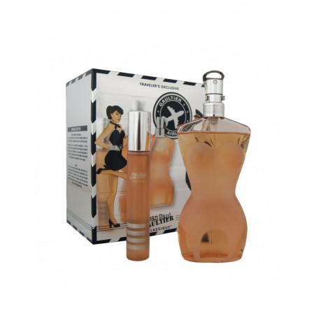 Classique Eau de Toilette con vaporizador – J.P.Gaultier travel set