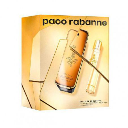 1 Million Eau de Toilette con vaporizador- Paco Rabanne travel set