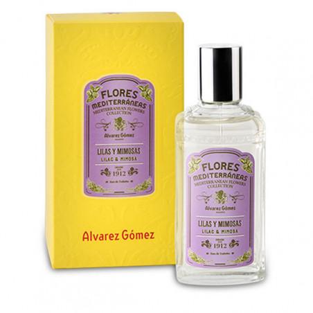 Flores mediterráneas lilas mimosas - Álvarez Gómez