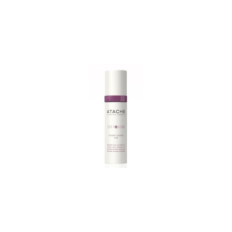 Soft Derm Emulsion facial Intensive Defense SPF8 - ATACHE