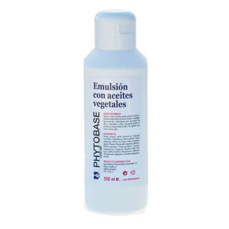 Emulsion con Aceites Vegetales - PHYTOBASE