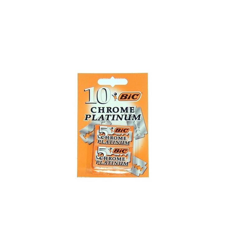 Cuchillas de Afeitar Chrome Platinum 10 und. - BIC