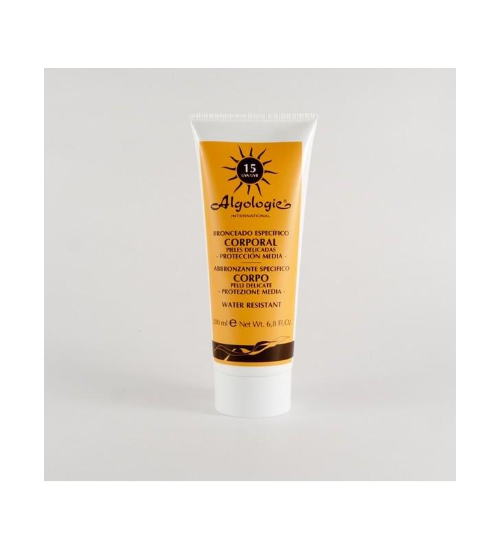 Crema solar corporal SPF 15 - ALGOLOGIE