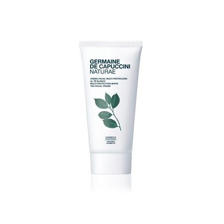 Naturae. Crema facial multi-protección al té blanco - GERMAINE DE CAPUCCINI
