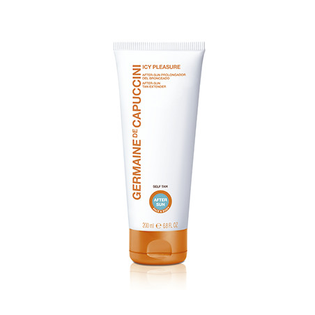 Golden Caresse. Icy Pleasure. After Sun prolongador del bronceado - GERMAINE DE CAPUCCINI