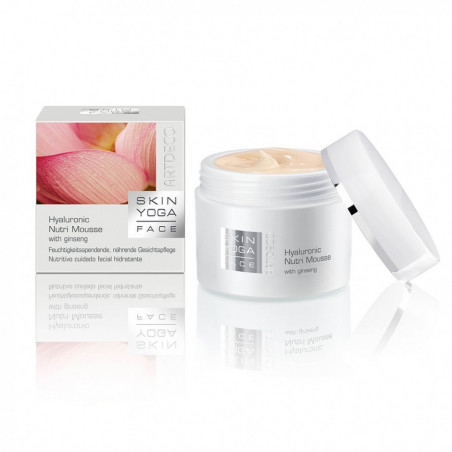 Skin Yoga Face. Hyaluronic Nutri Mousse with Ginseng - ARTDECO