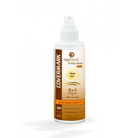 Rayblock. Body Plus Deep Tan Spray - COVERMARK