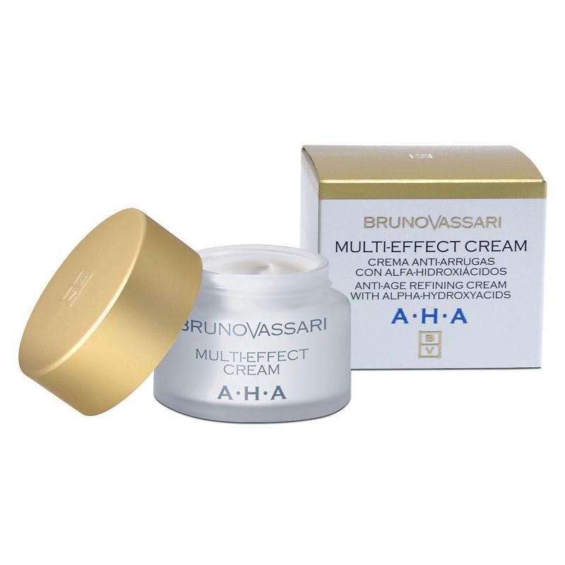 AHA. Multi-Effect Cream, antiarrugas - BRUNO VASSARI