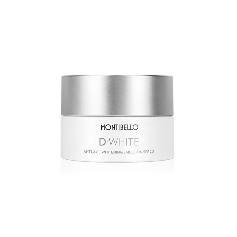 D-White. Anti-Age Whitening Emulsión SPF20 - MONTIBELLO
