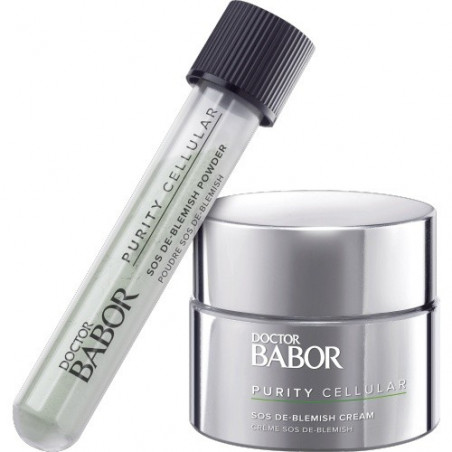 Doctor Babor Purity Cellular. SOS De-Blemish Kit - BABOR
