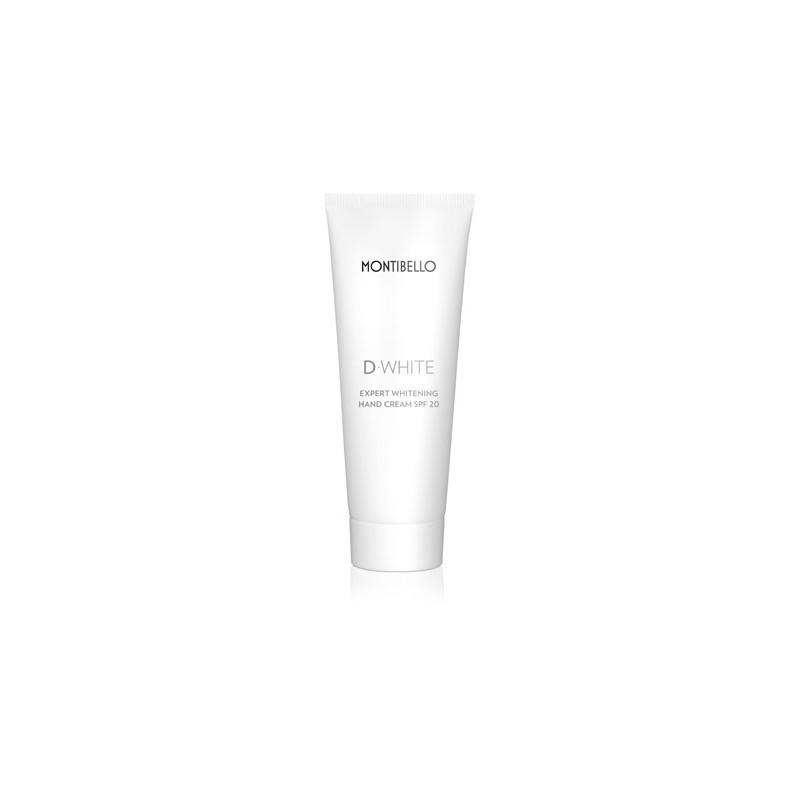 D-White. Crema de Manos Expert Whitening SPF 20 - MONTIBELLO