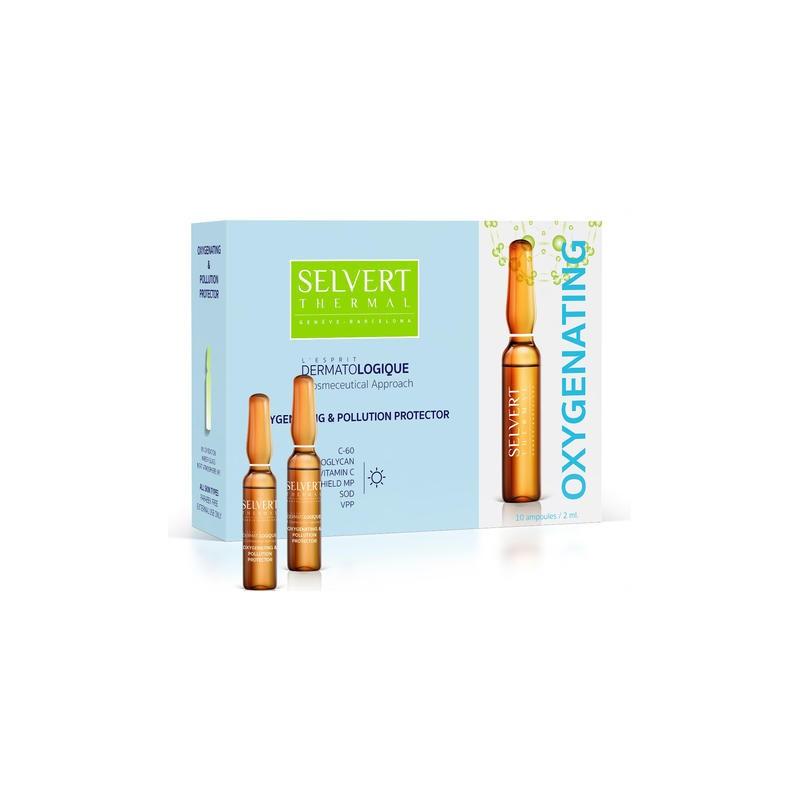 L'Esprit Dermatologique. Ampollas Oxygenating and Pollution Protector - SELVERT