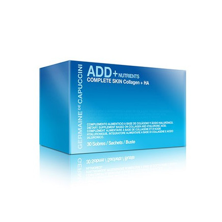 Add+ Nutrients. Complete Skin Collagen + HA - GERMAINE DE CAPUCCINI