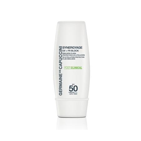 Synergyage. UV + FR Block SPF 50 - GERMAINE DE CAPUCCINI