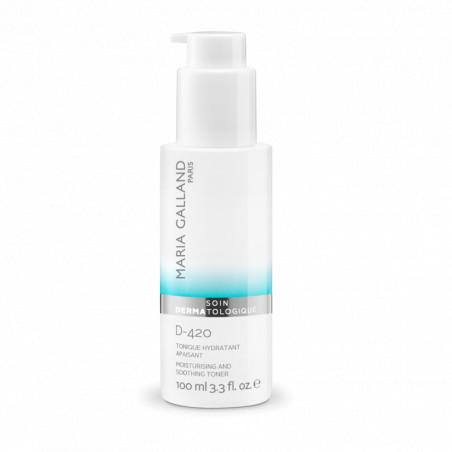 Soin Dermatologique. D-420 Tonique Hydratant Apaisant - MARIA GALLAND