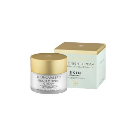 Skin Confort. Gentle Night Cream - BRUNO VASSARI