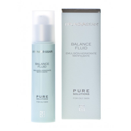 Pure Solutions. Emulsión hidratante matificante - BRUNO VASSARI