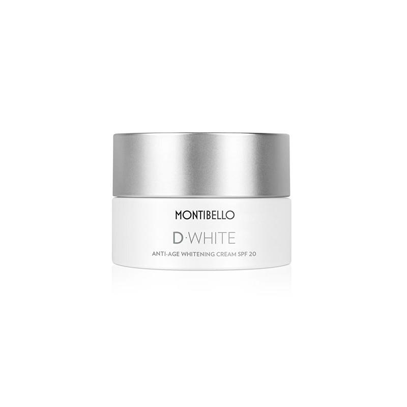 D-White. Anti-Age Whitening Cream SPF20 - MONTIBELLO