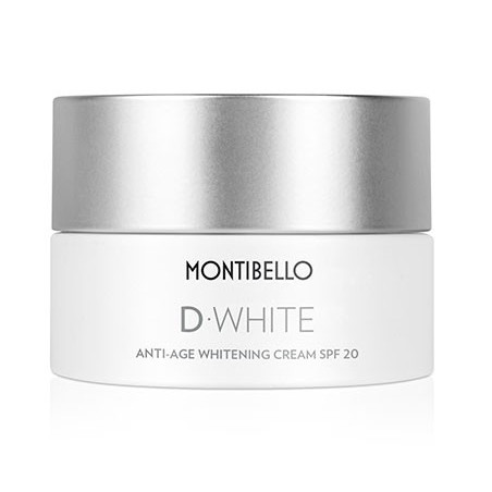 D-White. Anti-Age Whitening Cream SPF20 - MONTIBELLO