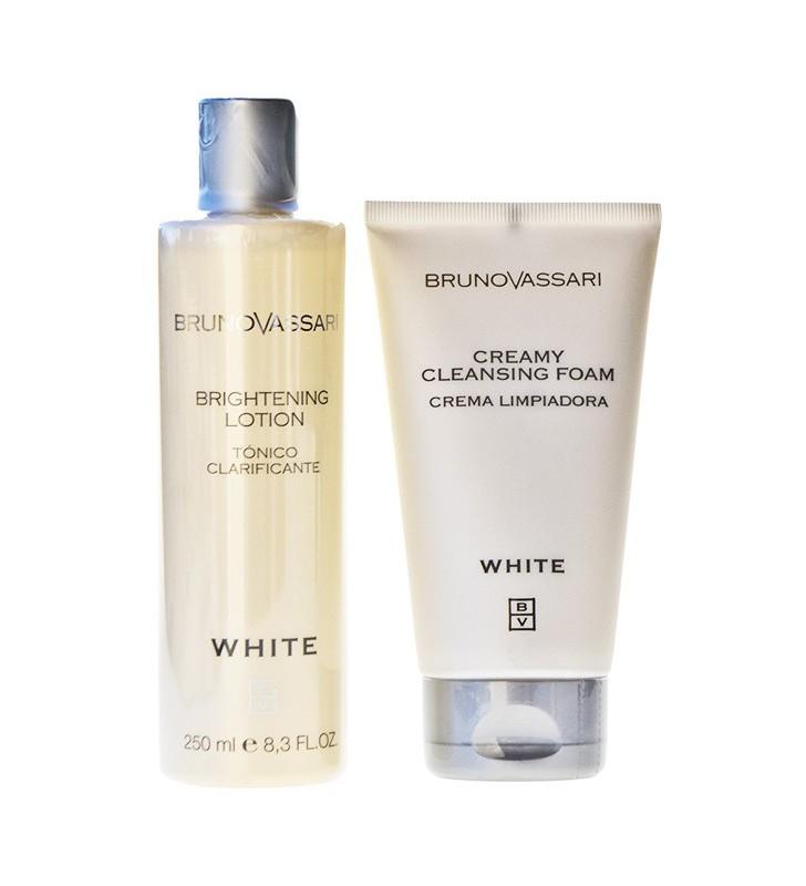 White. Pack higiene facial Anti-manchas - BRUNO VASSARI