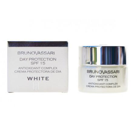 White. Crema protectora de día SPF15 - BRUNO VASSARI