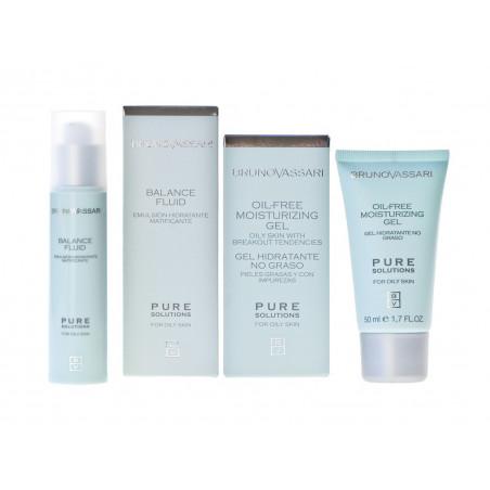 Pure Solutions. Pack tratamiento piel grasa - BRUNO VASSARI