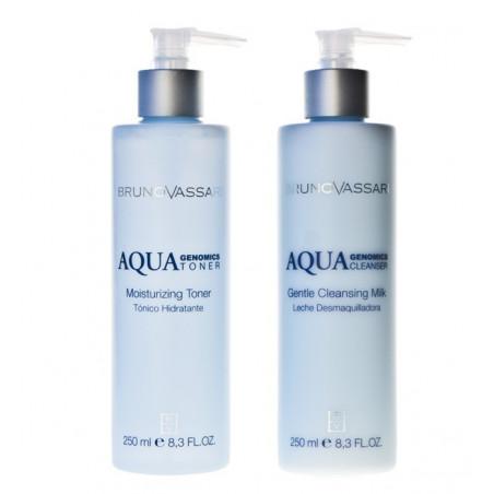Aqua Genomics. Pack higiene facial - BRUNO VASSARI
