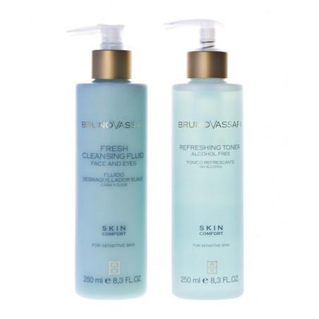 Skin Confort. Pack higiene facial - BRUNO VASSARI