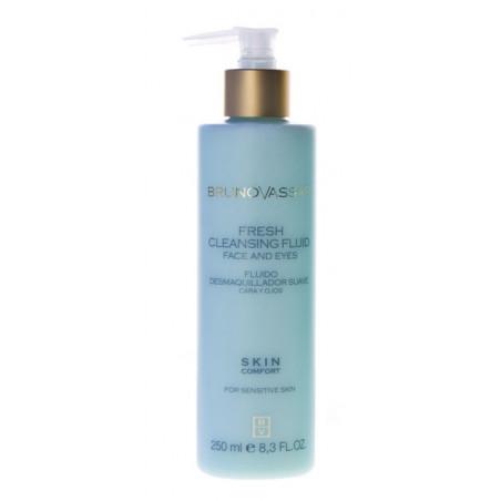 Skin Confort. Fresh Cleansing Fluid - BRUNO VASSARI