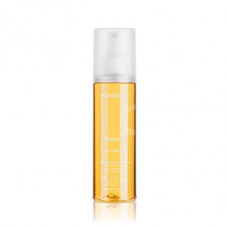Sun Age. Silky Dry Oil SPF50 - MONTIBELLO