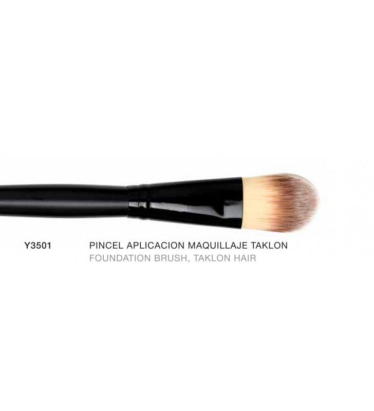 Macao. Pincel de aplicación de maquillaje con pelo de Taklon Y3501 - Novara